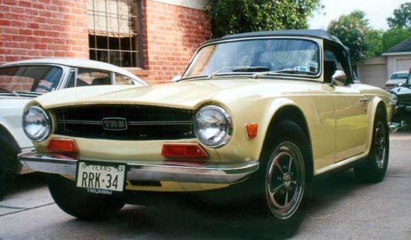 1969 TR-6